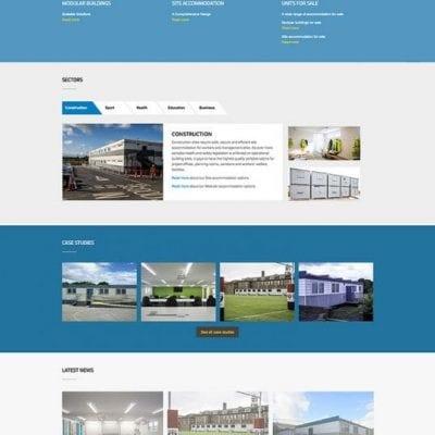 A Web design agency for SiBCAS, Scotland.