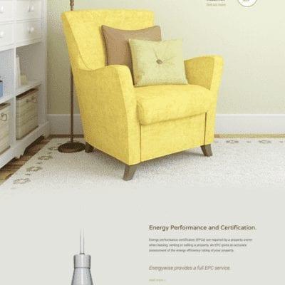 Energywise Scotland work with Edinburgh based web design agency, Reddishpink media.