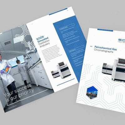 Brand development and commercial photography for West Lothian based, Scion Instruments.